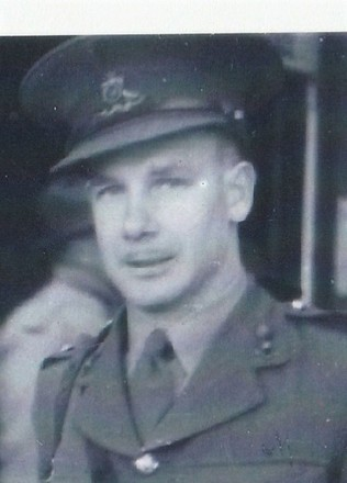 Photograph of Cyril Hugh Wilson 50732. Image kindly provided by the Wilson Family (May 2018). Image may be subject to copyright restrictions.