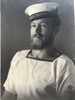 Portrait of Joe Godfrey in Naval Uniform, c.Second World War. Image kindly provided by family (2015). Image may be subject to copyright restrictions.
