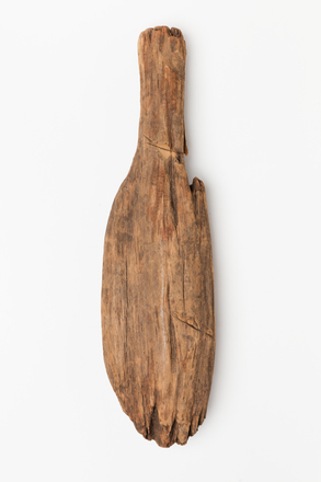 pounder, fern root, 1980.106, 48819, Photographed by Jennifer Carol, digital, 29 May 2018, Cultural Permissions Apply