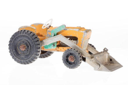 toy tractor, 1996.165.215, Photographed by Andrew Hales, digital, 22 Jun 2018, © Auckland Museum CC BY