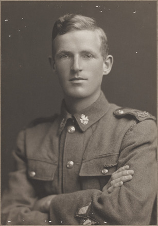 Portrait of Sapper Henry George Clark - Military Medal. Archives New Zealand, R24184920. Image may be subject to copyright restrictions.