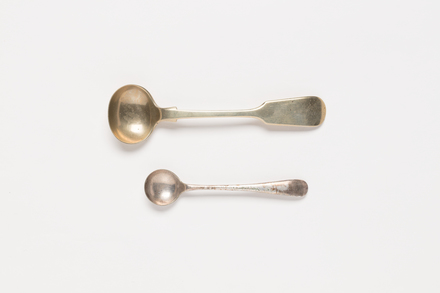 spoons, 1969.3, col.2322, col.2322.1, col.2322.2, Photographed by Richard Ng, digital, 02 Aug 2018, © Auckland Museum CC BY