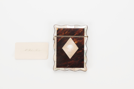 case, card, 1968.62, col.2173, Photographed by Richard Ng, digital, 08 Aug 2018, © Auckland Museum CC BY