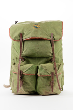 backpack, 2014.66.1, Photographed by Jennifer Carol, digital, 03 Sep 2018, © Auckland Museum CC BY