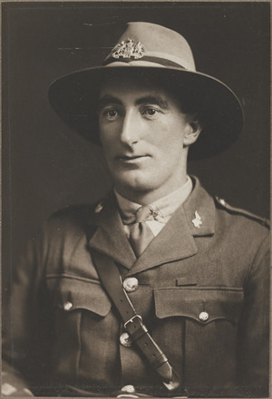 Portrait of Captain 2nd Lieutenant A. Martin, Archives New Zealand, R24184673. Image may be subject to copyright restrictions.