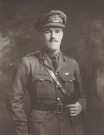 Portrait of Major Aubrey Vincent Short MC. FL20932773 Archives New Zealand. Image may be subject to copyright restrictions.