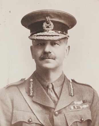 Portrait of Brigadier General Francis Earl Johnston, Archives New Zealand, R24184979. Image may be subject to copyright restrictions.