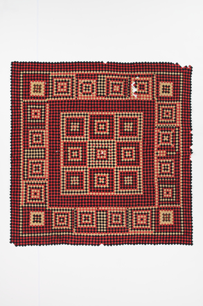 quilt, patchwork, 1965.78.97, col.0821, ocm0334, Photographed by Daan Hoffmann, digital, 12 Sep 2018, © Auckland Museum CC BY