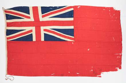 flag, ensign, 1965.10, F014, W1767, Photographed by Daan Hoffmann, digital, 12 Sep 2018, © Auckland Museum CC BY