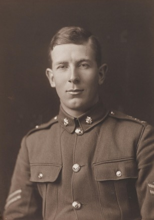 Portrait of Sergeant Sloan Morpeth, Archives New Zealand, AALZ 25044 6 / F622 8. Image is subject to copyright restrictions.