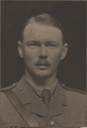 Portrait of Major Norman Alexander Duthie, Archives New Zealand, AALZ 25044 1 / F824 48. Image is subject to copyright restrictions.