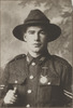 Portrait of the Corporal Charles Robert Barker, Archives New Zealand, AALZ 25044 5 / F1845 33. Image is subject to copyright restrictions.
