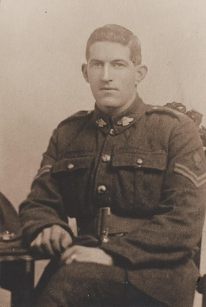 Portrait of Corporal James McCracken, Archives New Zealand, AALZ 25044 3 / F1471 52. Image is subject to copyright restrictions.