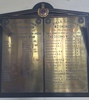 Photograph of the New Zealand Engineers Roll of Honour at St. David's Mmemorial Church, Auckland. Includes Sergeant Arthur Myer Ziman. Image kindly provided by Paul Baragwanath (October 2018). Image may be subject to copyright restrictions.