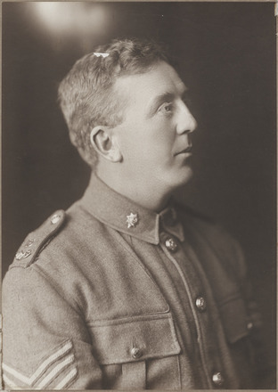 Portrait of Second Lieutenant Allan Morpeth, Archives New Zealand, AALZ 25044 6 /  F620 8. Image is subject to copyright restrictions.