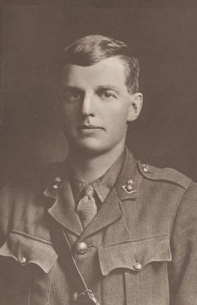 Portrait of Lieutenant Arthur James Wigley, Archives New Zealand, AALZ 25044    2 /  F942 41.