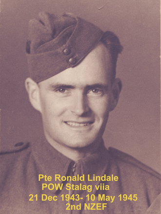 Photograph of Private Ronald Lindale, 547469. Image kindly provided by Donald Leslie Lindale (October 2018). Image may be subject to copyright restrictions.