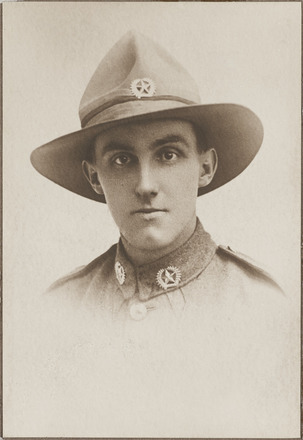 Portrait of Lance Corporal William Edwin Ball, Archives New Zealand, AALZ 25044 3 / F1476 13.