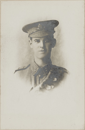 Portrait of Sergeant Edward Florian Allan MM. Archives New Zealand. AALZ 25044  1 / F799. Image may be subject to copyright restrictions.