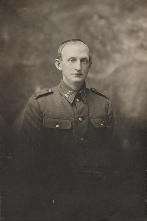 Portrait of Sgt Erick Jordan DCM. Archives New Zealand AABK 18805 W5541 76 / 0062065. Image may be subject to copyright restrictions.