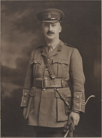 Portrait of Lieutenant Colonel Bernard Myers, Archives New Zealand, AALZ 25044 6 / F688 18. Image is subject to copyright restrictions.