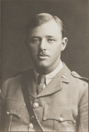 Portrait of Lieutenant Charles Cairn Best, Archives New Zealand, AALZ 25044 2 / F935 48. Image is subject to copyright restrictions.