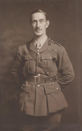 Portrait of Lieutenant Colonel John Gethin Hughes, Archives New Zealand, AALZ 25044 5 / F2101 9. Image is subject to copyright restrictions.