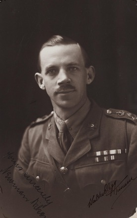 Portrait of Lieutenant Colonel Newman Robert Wilson, Archives New Zealand, AALZ 25044 5 / F1918 59. Image is subject to copyright restrictions.