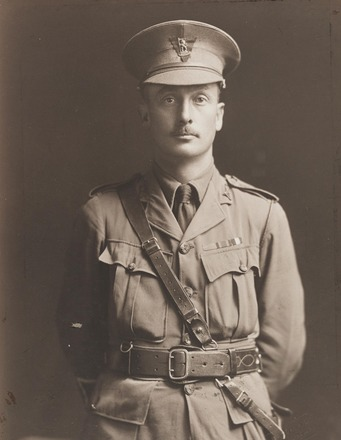 Portrait of Lieutenant Colonel Alfred Winter-Evans, Archives New Zealand, AALZ 25044 1 / F840 48. Image is subject to copyright restrictions.