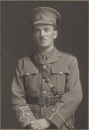 Portrait of Lieutenant John Murdoch Campbell McLeod, Archives New Zealand, AALZ 25044 2 / F1065 42. Image is subject to copyright restrictions.