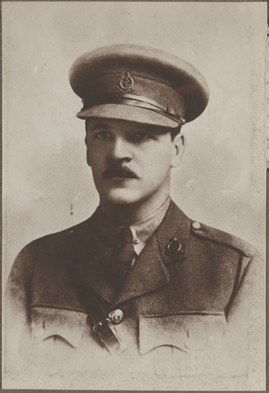 Portrait of Major Bernard Charles Tennent, Archives New Zealand, AALZ 25044 5 / F1837 58. Image is subject to copyright restrictions.