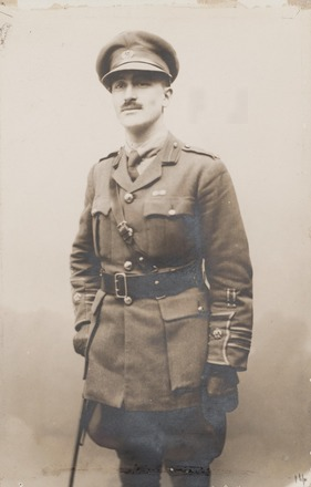Portrait of Major George Herbert Gray, Archives New Zealand, AALZ 25044 2 / F1156 44. Image is subject to copyright restrictions.
