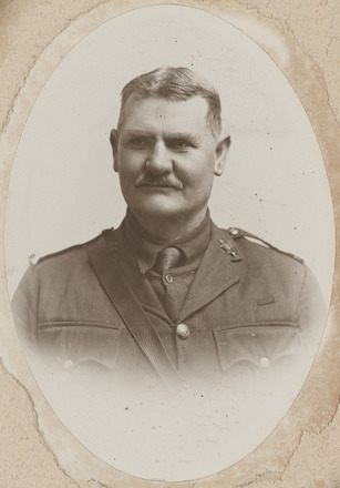 Portrait of Major James Binnie Whyte, Archives New Zealand, AALZ 25044 2 / F976 37. Image is subject to copyright restrictions.
