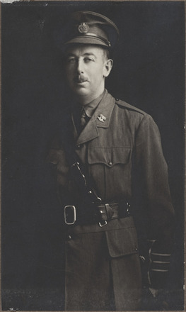 Portrait of Major Percy Morland Acton-Adams, Archives New Zealand, AALZ 25044 5 / F2049 66. Image is subject to copyright restrictions.