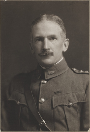 Portrait of Lieutenant-Colonel C.G. Powles - D.S.O. Archives New Zealand, R24184847, Image may be subject to copyright restrictions.