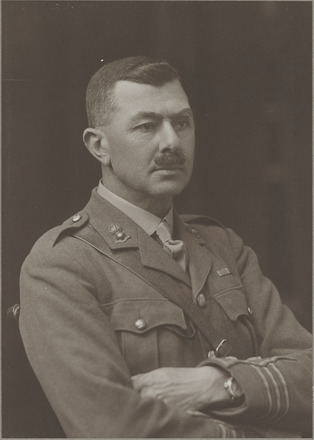 Portrait of Major F.B. Sykes - R.F.A, Distinguished Service Order and Bar. Archives New Zealand, R24184069, Image may be subject to copyright restrictions.