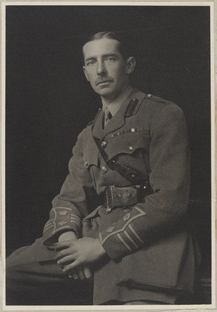 Portrait of Lt Colonel (later Brigadier) Robert O'Hara Livesay CMG DSO. Archives New Zealand, AALZ 25044  6 / F2051. Image may be subject to copyright restrictions.