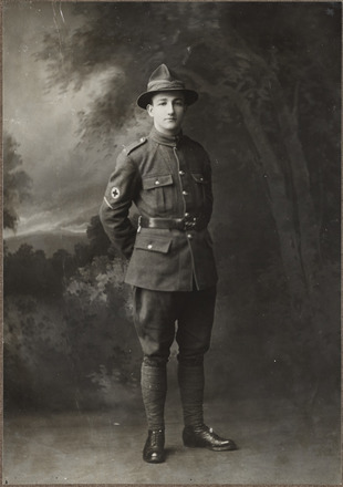 Portrait of Private Edwin Ford Boyd, Archives New Zealand, AALZ 25044 3 / F1223 46. Image is subject to copyright restrictions.