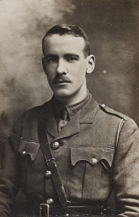 Portrait of Captain Frederick Neville Houston MC. Archives New Zealand, AALZ 25044 1 / F752. Image may be subject to copyright restrictions.