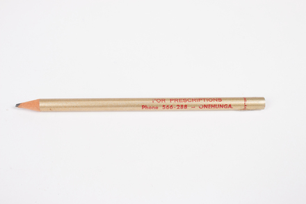 pencil, 2015.51.34, © Auckland Museum CC BY