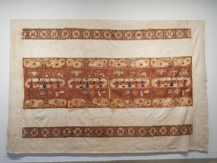 2018.35.2; Koe Koka'anga 'ae Fafine Falevai; Ngatu, Collection of Auckland Museum Tāmaki Paenga Hira, 2108.35.1, © Sulieti Fieme'a Burrows and Tui Emma Gillies