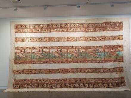 2018.35.1, Falevai Moe Famili, ngatu, Collection of Auckland Museum Tāmaki Paenga Hira, 2108.35.1, © Sulieti Fieme'a Burrows and Tui Emma Gillies