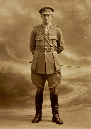 Portrait of Captain George McLaughlan Niccol. Date unknown. Image kindly provided by Deborah Quilter (November 2018). Image has no known copyright restrictions.