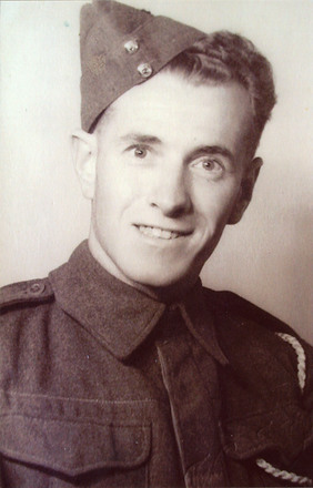 Portrait of Private Rupert Blake Knox. Date unknown. Image kindly provided by Allan Buist (November 2018). Image may be subject to copyright restrictions.