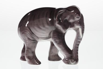 figure, elephant, 1997.44.1, Photographed by Denise Baynham, digital, 30 Nov 2018, © Auckland Museum CC BY