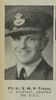 Portrait of Flight Lieutenant Victor William Hall Trayes, Auckland Weekly News, 12 September 1945. 'Sir George Grey Special Collections, Auckland Libraries, AWNS-19450912-26-25. Image may be subject to copyright restrictions.