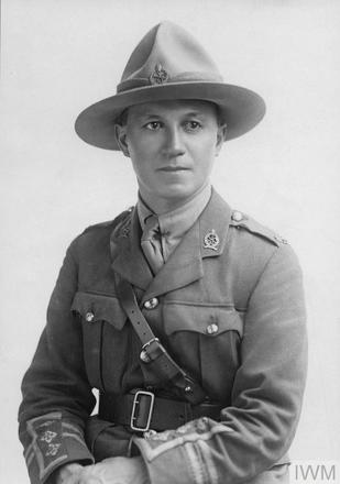 Portrait of Captain Harry Delamere Dansey. Image sourced from Imperial War Museums' 'Bond of Sacrifice' collection. ©IWM HU 1020928