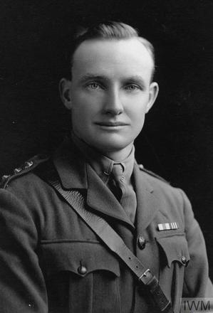 Portrait of Captain Walter Rewi Hallahan. Image sourced from Imperial War Museums' 'Bond of Sacrifice' collection. ©IWM HU 109326
