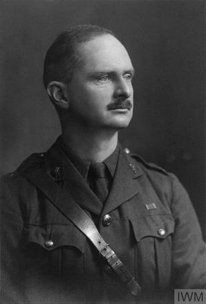 Portrait of Lieutenant Colonel Stephen Shepherd Allen. Image sourced from Imperial War Museums' 'Bond of Sacrifice' collection. ©IWM HU 112767