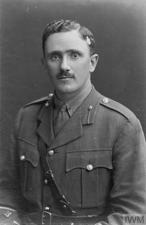 Portrait of Captain Edmund Graham Baskett. Image sourced from Imperial War Museums' 'Bond of Sacrifice' collection. ©IWM HU 113459